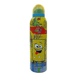 اسپری کودک  ضد حساسیت سورا آمور مدل باب اسفنجی حجم 200 میل  Sora Amore Kids Spray Deodorant Bob Spange 50 Extra Free 200 ml