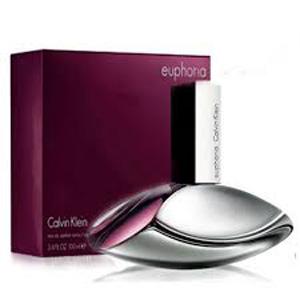 70fdb3662 عطر ( ادو پرفیوم ) زنانه ایفوریا کالوین کلین مدل Euphoria حجم 100 میلی لیتر Calvin  Klein Euphoria Eau De Parfum For Women 100ml