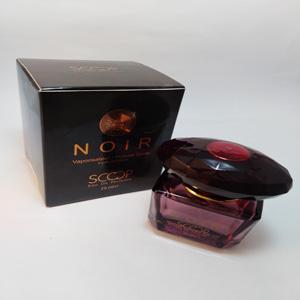 عطر زنانه مینی اسکوپ فرانسه ورساچه مشکی نویرکریستال 25 میل Scoop france Eau de parfum Noir Crystal Versace for women 25 ml
