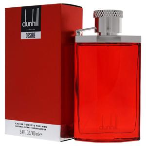 ادکلن ( ادو تویلت ) مردانه دانهیل قرمز مدل Desire Red حجم 100 میلی لیتر  Dunhill Desire Red Eau De Toilette For Men 100ml