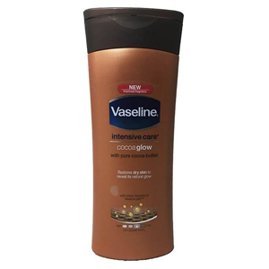 لوسیون بدن وازلین مدل عصاره کاکائو حجم 400 میلی لیتر  Vaseline Body Lotion cocoa 400 Ml